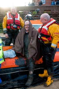 Rescued man