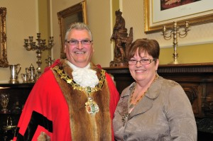 Cllr Alan Jennings and wife Catherine