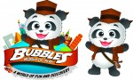 Bubbles the Panda and logo