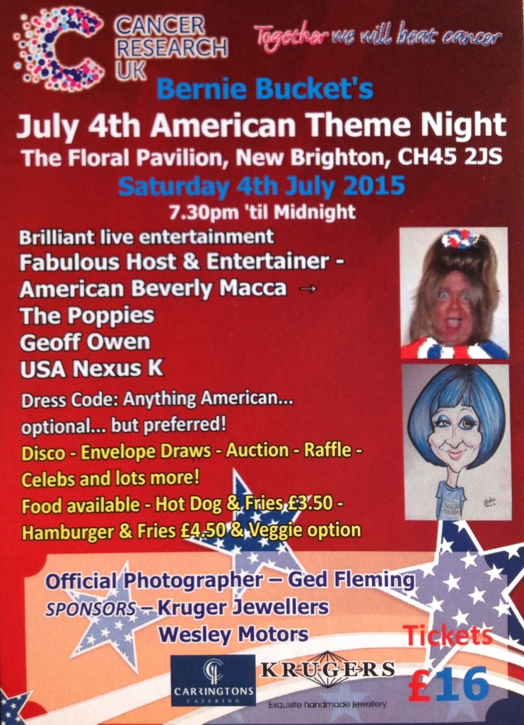 July 4th American Theme Night